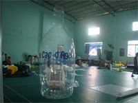 Air Sealed Welding 3m High PVC Inflatable Bottle