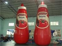 Full Color Digital Printing Master Foods Tomato Sauce Inflatable Bottle Model