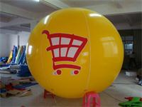 Diam 3m Yellow Printed Balloon