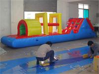 Aqua Dash Inflatable Obstacle Course Water Games