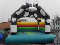 New Style Inflatable Animal Cow Bounce House for kids