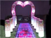 Attractive LED Light Inflatable Arch Decoration for Wedding Party