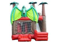 Durable 0.55mm PVC Tarpaulin Material Inflatable Pterodactyl  Castle for Zoo Park