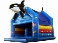 Whale Rider Inflatable Bouncer