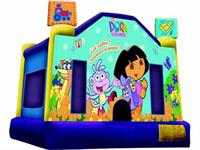 Inflatable Dora Bouncy Castle