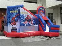 5 In 1 Inflatable Spiderman Castle Slide Combos