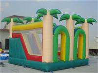 Jungle Inflatable Bounce House Slide Combo for Rent
