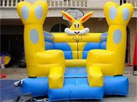 Hot Sales Outdoor Vivid Inlatable Rabbit Bouncer for kids