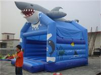 Paradise Park Inflatable Shark Bounce House