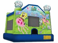 Mini Bouncer Inflatable Sponge Bob Bouncer