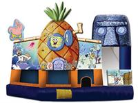 Sponge Bob 5 In 1 Bounce House Slide Combos