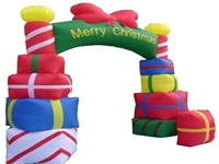 Best Selling Custom Cheap Outdoor Inflatable Christmas Archway