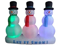 Christmas Inflatables Airblown ​​Inflatable Snowman Decoration