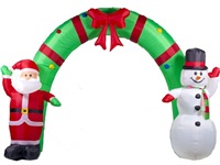 ​Inflatable Santa and Snowman Arch