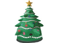 10 Foot Lighted Airblown Inflatable Light Show Christmas tree Outdoor Decoration