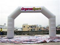 33 Foot Orycron Sport Light Gray Airtight Inflatable Angel Arch