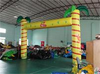 New Air Sealed Waterproof Inflatable Palm Tree Truss Arch