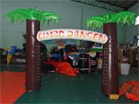 New 16 Foot Palm Trees Inflatable Race Arch for Events