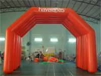 New 26 Foot Full Red Air Sealed Welding Inflatable Arch Tent