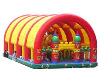 Gaint Disney Inflatable Playground with Shade Tent