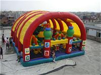 Gaint Disney Inflatable Fun City for Entertainment Parks