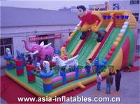 Ultimate Sports Challenge Giant Inflatable Fun City