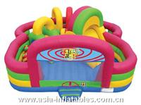 Bounce Me Playground Inflatable Moonwalk for Kids Amusement