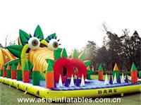 Pig Character Inflatable Playground for Kids Amusement