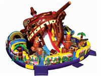 Giant Pirate Ship Inflatable Funfair