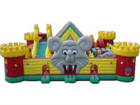 Inflatable Mickey Mouse Play Zone Fun Land for Rentals