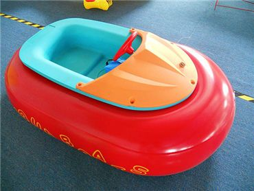 Red Bumper Boat