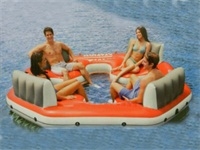 Best Quality CE Approval Fiesta Island Inflatable Boats for Sale