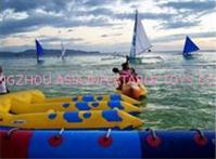 Inflatable Flying Fish Boat for Outdoor Entertainment