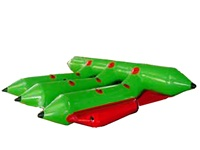 Most Popular Durable 6 Riders Inflatable Flying Fish Boat for Challenge