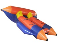 Factory Direct Sales 4 Persons Inflatable Flying Fish for Wholesale Price