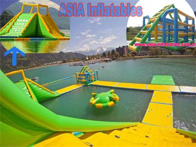 Tropical Islands Inflatable Water Park